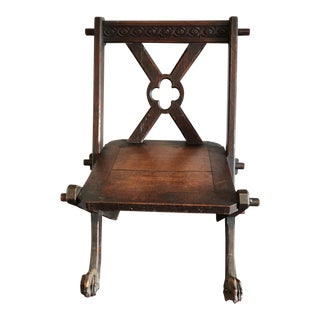 Gothic Revival Style Pugin Chair