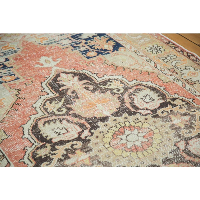 Boho Chic Vintage Oushak Carpet - 4′10″ × 8′2″ For Sale - Image 3 of 10