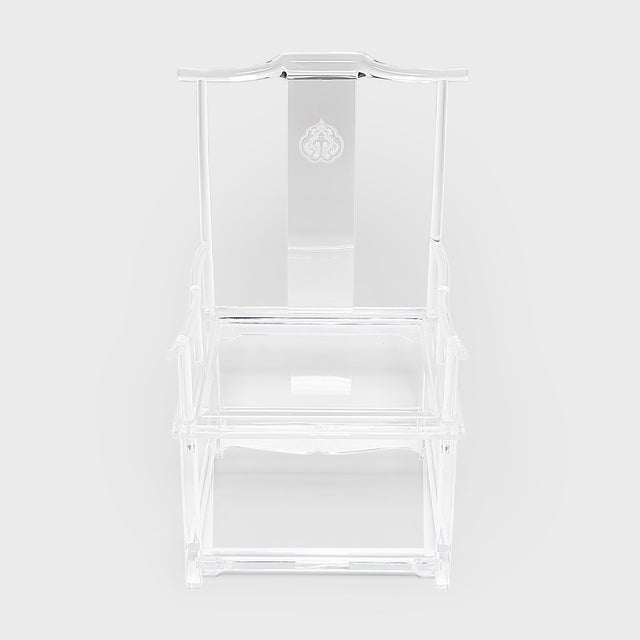 Early 21st Century Invisible Administrator's Chair by July Zhou For Sale - Image 5 of 8