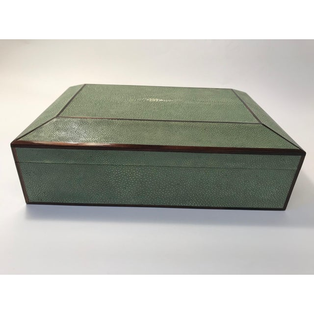 Bone Inlay & Shagreen Box For Sale - Image 10 of 10