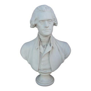 Vintage Thomas Jefferson Bust For Sale