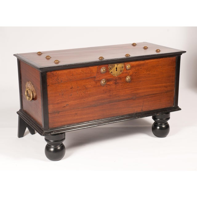 Indo-Dutch 19th C. Trunk - Image 2 of 6