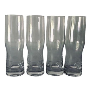 Modern Lenox Set of 4 Tall Bar Glasses For Sale