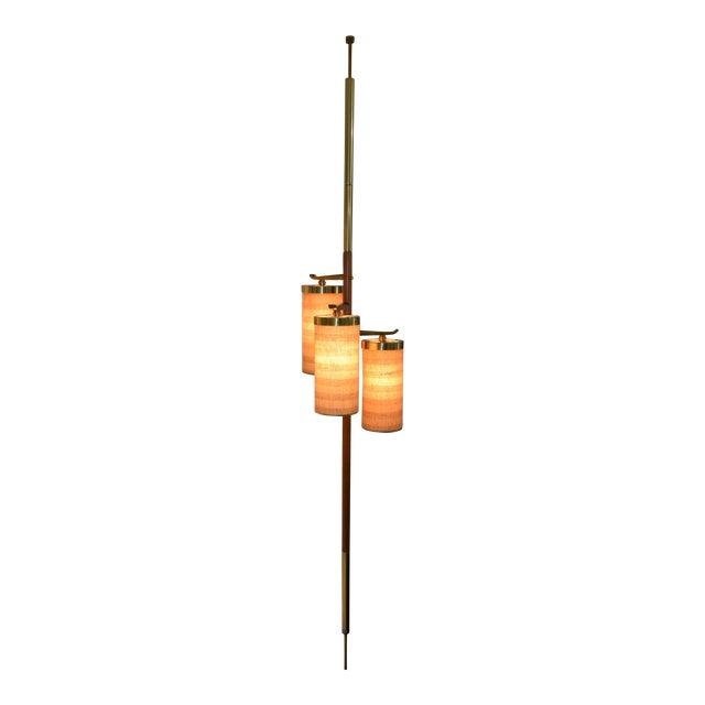 Stiffel MId-Century Pole Floor Lamp - Image 1 of 7