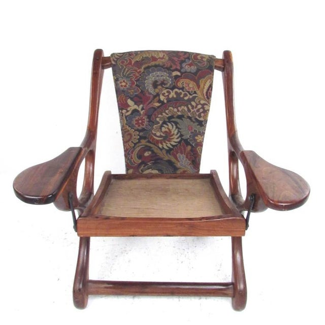 1970s Mid-Century Don Shoemaker Accent Chair For Sale - Image 5 of 11
