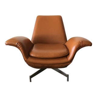 Mid Century Modern Style Hbf Dialogue Lounge Chair For Sale