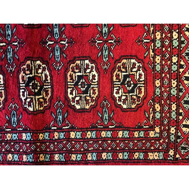 "Hand Woven Bukhara Oriental Rug - 2'1"" X 2'11"" - Image 3 of 5"