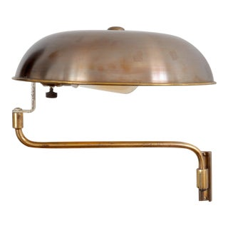 Amba Swing-Arm Wall Lamp, Switzerland, 1940s For Sale