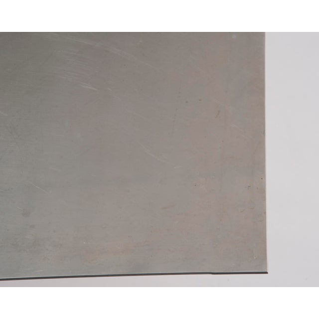 Paul Mayen Habitat Aluminum Coffee Table For Sale - Image 11 of 12