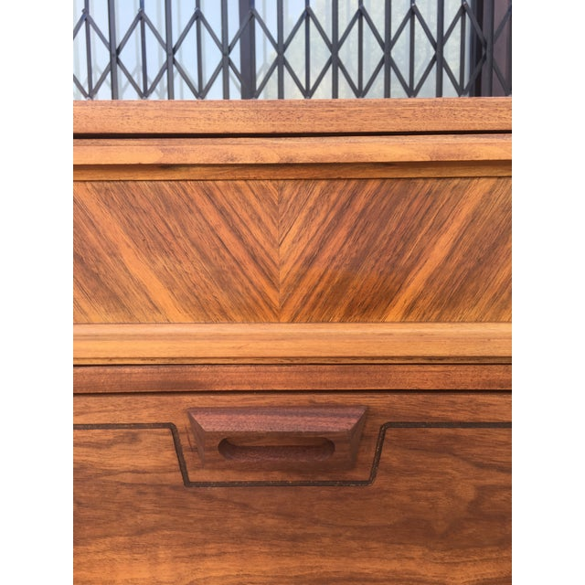 Mid-Century Dresser With Sculpted Pulls - Image 8 of 11