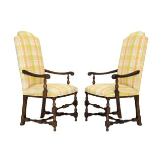 George III Armchairs by Century - A Pair