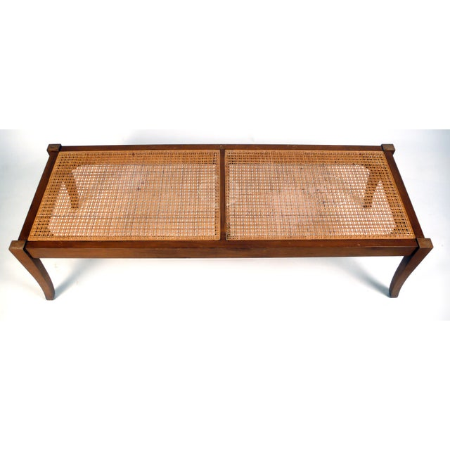 1960s Sabre Leg Cocktail Table/Bench For Sale - Image 5 of 5