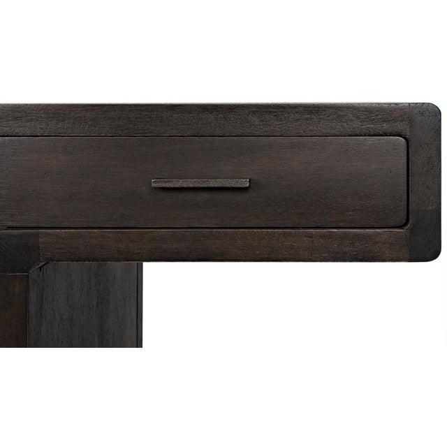 Degas Desk, Ebony Walnut For Sale - Image 10 of 11