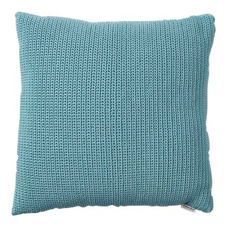 Cane-Line Divine Square Scatter Cushion, Turquoise For Sale