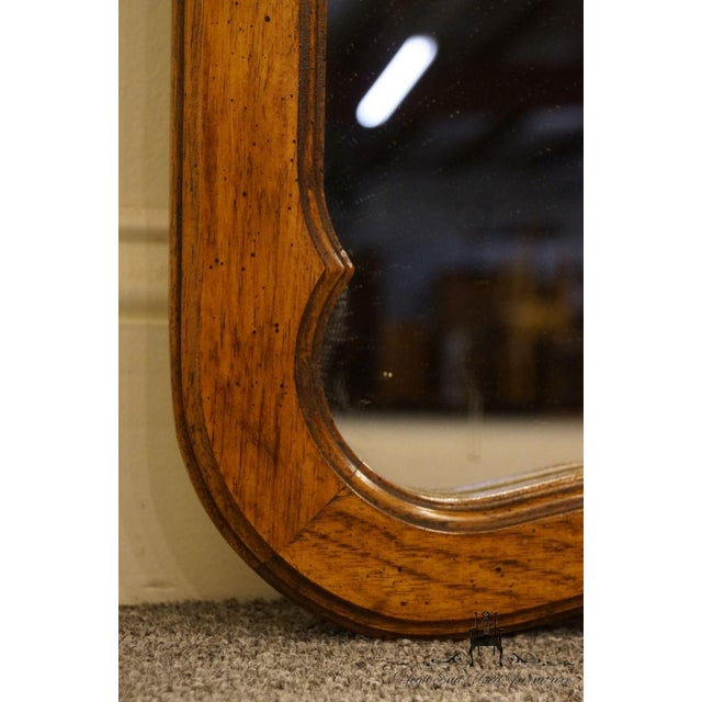 Brown Late 20th Century Vintage Thomasville Furniture Camille Collection Mirror For Sale - Image 8 of 11