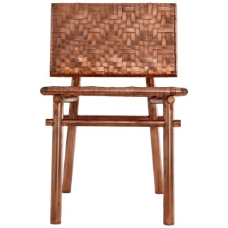 Rec Rec Chair Copper Chair, Signed by Michael Gittings For Sale