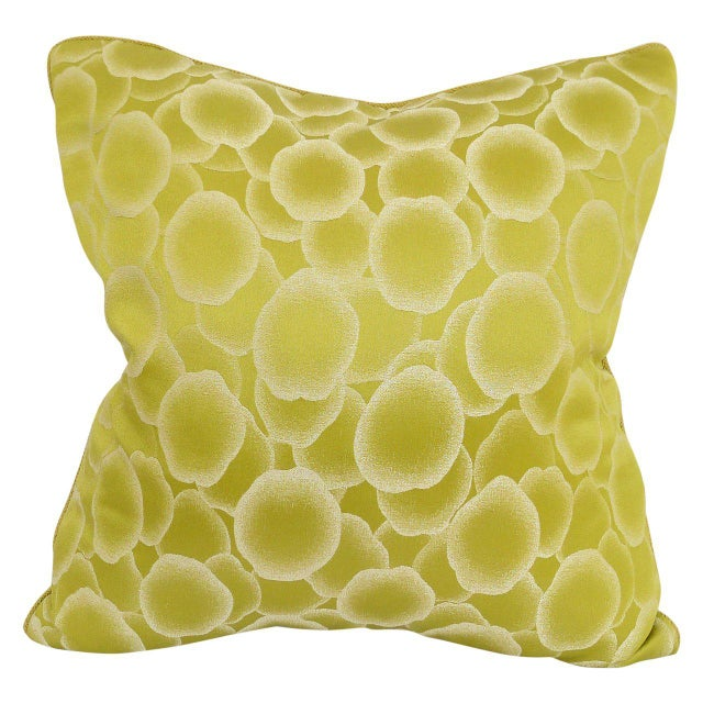 """Contemporary """"Baccarat"""" Pillow For Sale - Image 3 of 3"""