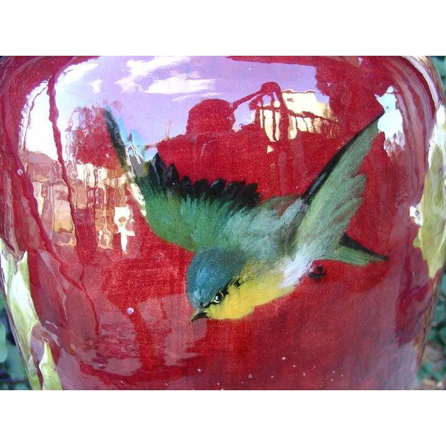 Late 19th Century Antique Grande 'Bourg La Reine' Vase For Sale - Image 5 of 9