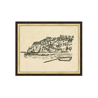 Framed Cliffs Drawing
