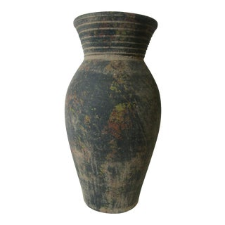 Rustic Terra Cotta Vase