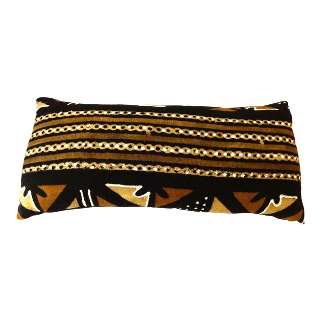 Mud Cloth Long Pillow - Image 1 of 9