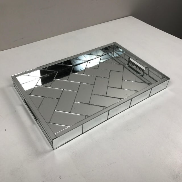Decorative Mirrored Table Tray - Image 4 of 8