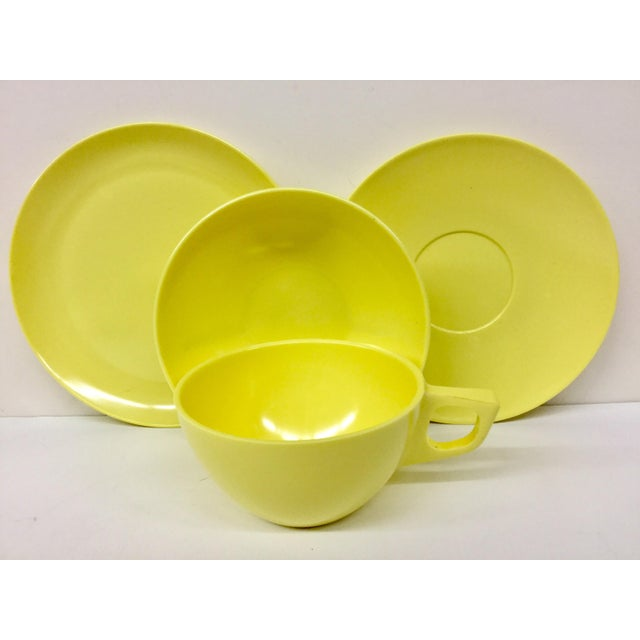 Ceramic Sun Valley Mel Mac Service for 3 Tableware - 12 Pc. For Sale - Image 7 of 11