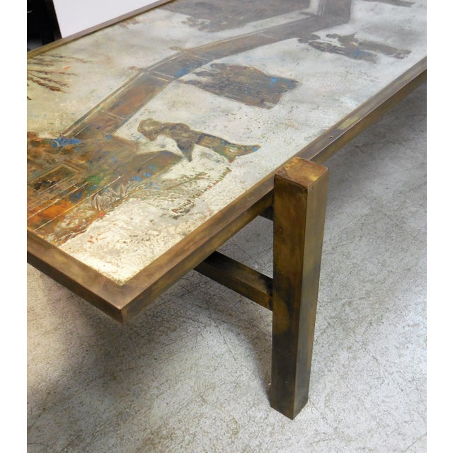 Stunning Tao Coffee Table by Philip and Kelvin LaVerne - Image 5 of 11
