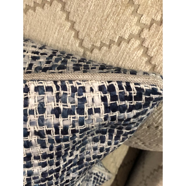 The Brax pillow is made with a textured linen blend that adds dimension to the pillow's soothing colorways. The collection...