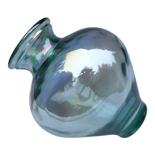 Modern Iridescent Glass Vase