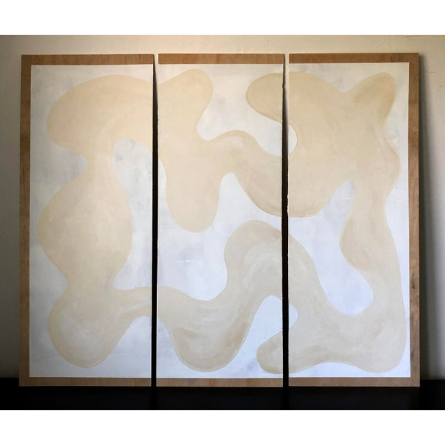 Winter Whites Triptych For Sale - Image 10 of 10
