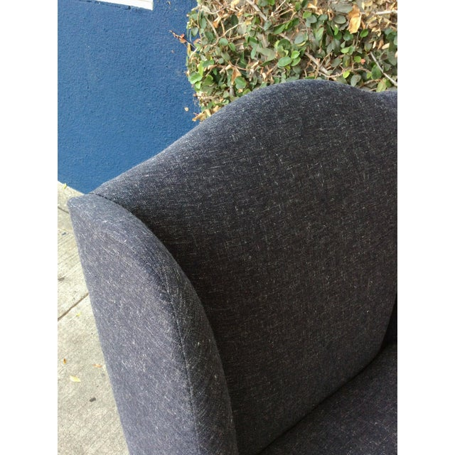 Blue & Gray Side Chairs - Set of 4 For Sale - Image 11 of 11