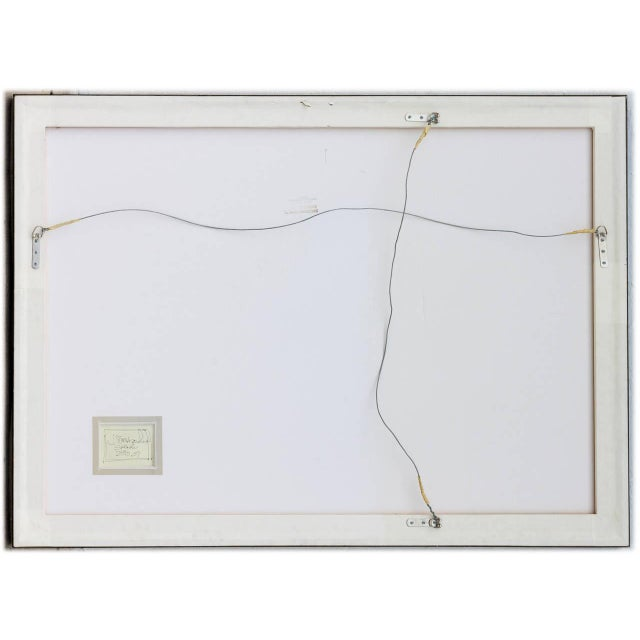 J. Steven Manolis Abstract Gouache and Watercolor on Paper, 2007 For Sale In Miami - Image 6 of 7