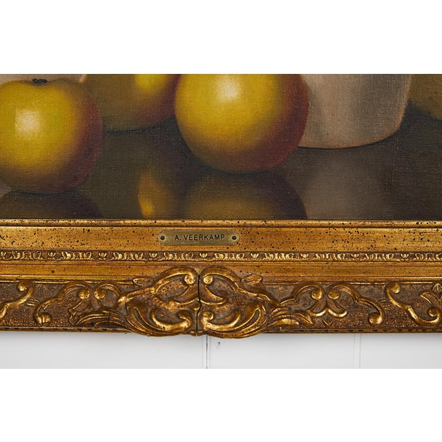 Ecru Pair of 19th Century Still Life Oil Paintings For Sale - Image 8 of 13