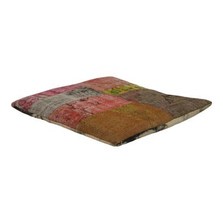 Designer Patchwork Floor Pillow For Sale