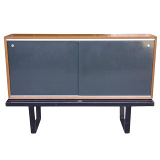 Mid-Century George Nelson for Herman Miller Cabinet or Credenza on Slat Bench For Sale