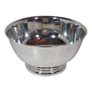 1970s Sheridan Paul Revere Silver Plate Bowl For Sale
