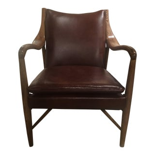 Kiannah Leather Club Chair