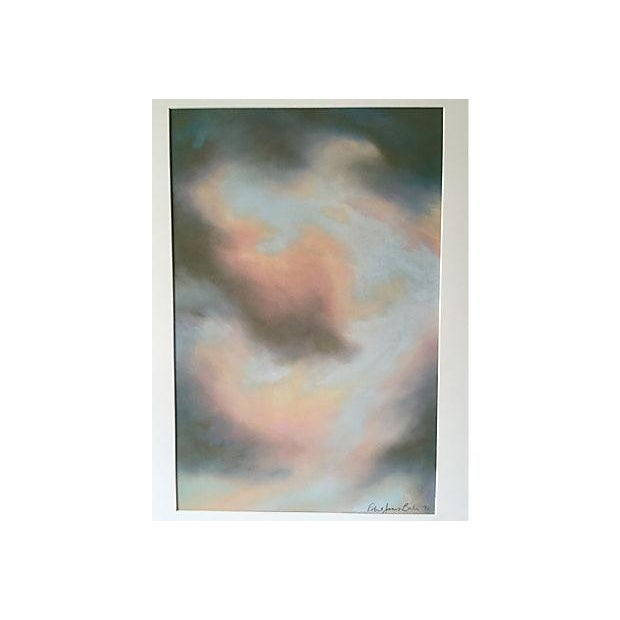Robert Jones 'Clouds in Bali' Pastel Painting - Image 2 of 5