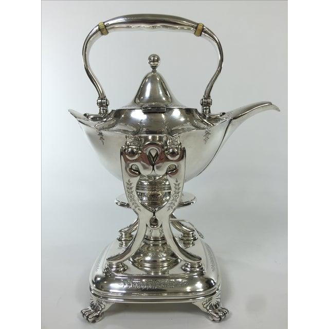Tiffany & Co. Antique Sterling Silver Tea Pot - Image 4 of 11