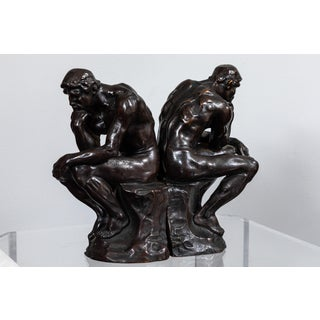 1920's Bronze Bookends by Pompeian Bronze Co. - a Pair Preview