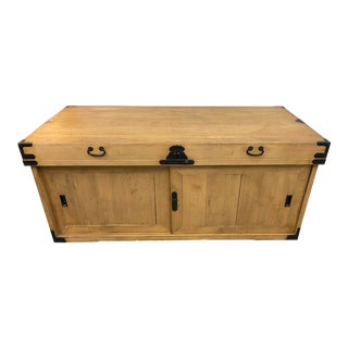 Mid 20th Century Japanese Tansu Chest + Storage For Sale