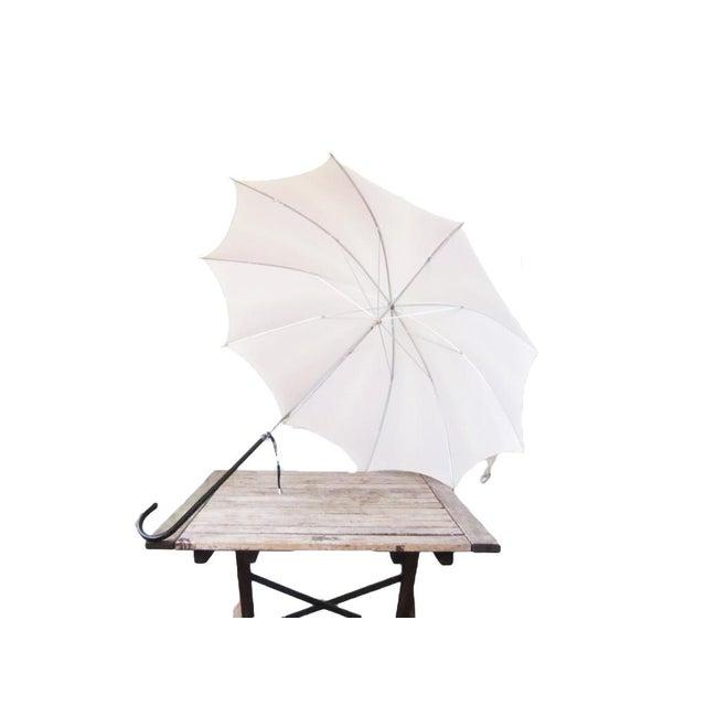 Vintage Ivory Blush Umbrella - Image 4 of 6
