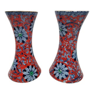 1920s Vintage Fredrick Rhead Woods and Sons Chung Vases - a Pair For Sale