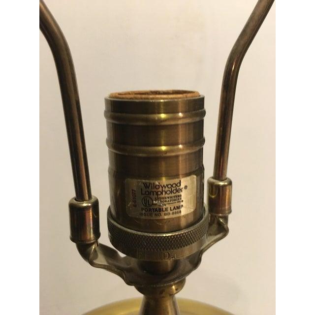 Metal Vintage Wildwood Brass Table Lamp For Sale - Image 7 of 8