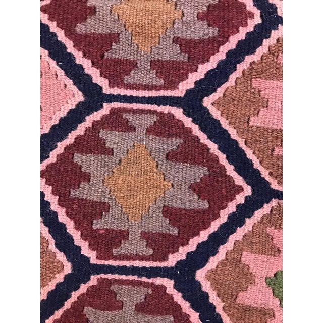 1990s Vintage Handmade East Turkey Kilim Rug- 3′4″ × 5′8″ For Sale - Image 4 of 8