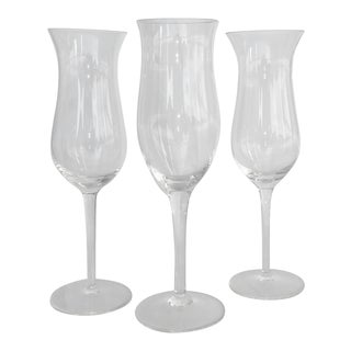 Champagne/Wine Glasses - Set of 3 For Sale