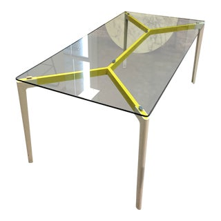 Knoll Glass Top Stromborg Table