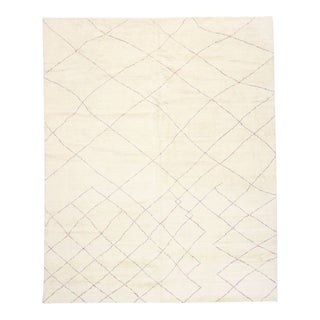Contemporary Moroccan Style Rug, 12'00 X 15'00 For Sale
