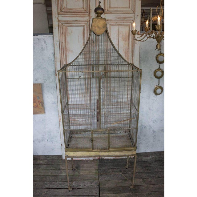 Large French Bird Cage - Image 9 of 10